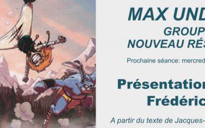 MAX UND MORITZ: Présentation clinique de Frédéric Pacaud