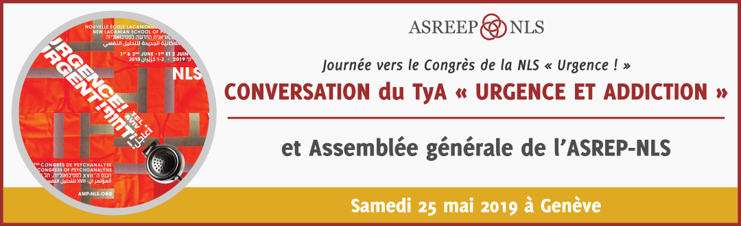 Conversation du TyA (Toxicomanie et addictions) « Urgence et Addiction »