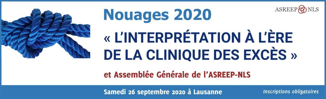 Nouages 2020 : « L'interprétation à l'ère de la clinique des excès »