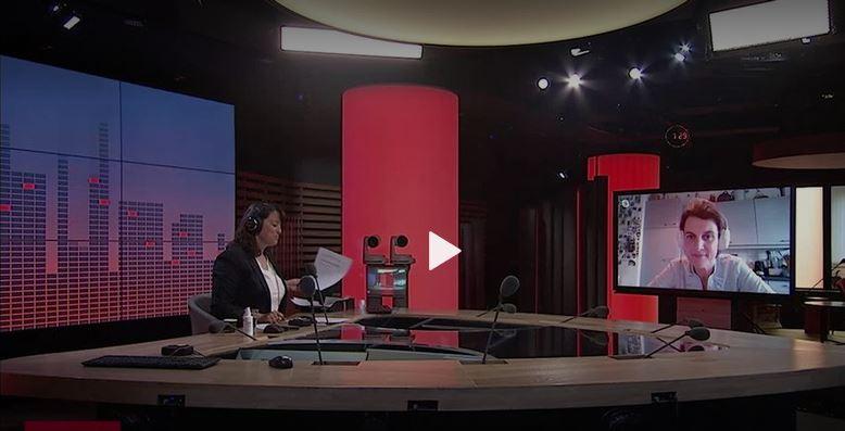 (RTS) Le besoin d'écoute est grand en ces temps de pandémie : interview d'Anne Edan