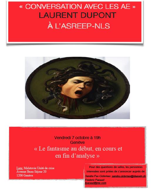 Conversation avec les AE: Laurent Dupont