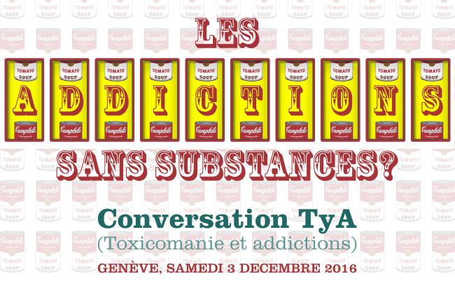 Conversation TyA à Genève le samedi 3 décembre 2016