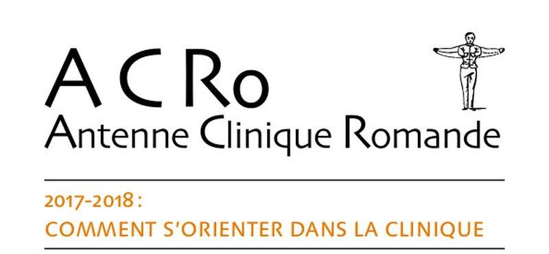 Antenne Clinique: Comment s'orienter dans la clinique 2017-2018