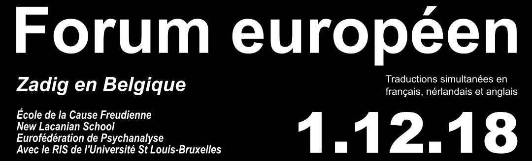 Forum européen «Les discours qui tuent»