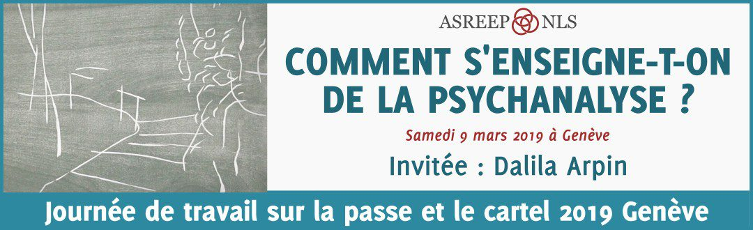 Comment S'Enseigne-t-on de la Psychanalyse ?
