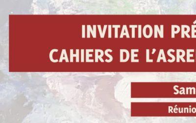 Présentation Cahiers de l'ASREEP-NLS n°4