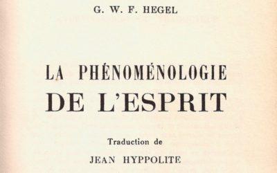 Les écrits techniques de Hegel